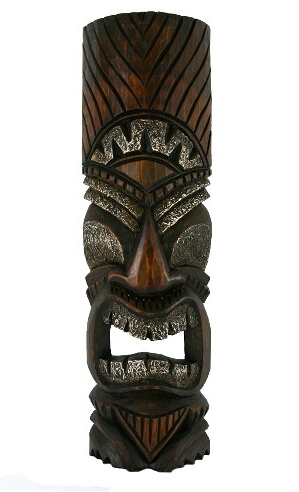 "20"" Happy Tiki Mask"