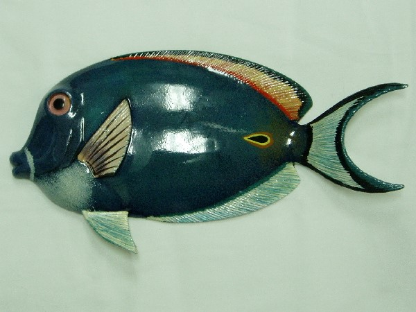 "8"" Blue Tang Adult Tropical Fish Wall Decor"