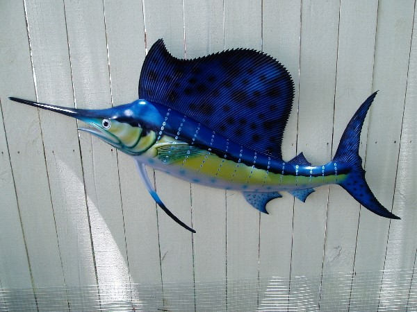 48in SailFish Wall Decor
