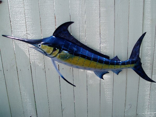 48inBlue Marlin Wall Decor