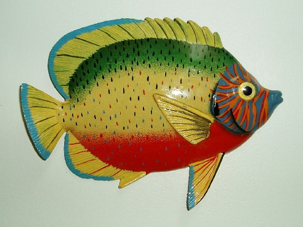 "8"" Royal Gramma Fish Decor"